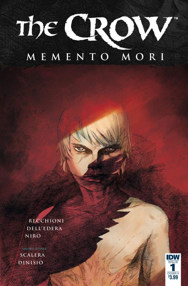 The Crow - Memento Mori # 1, edição da IDW