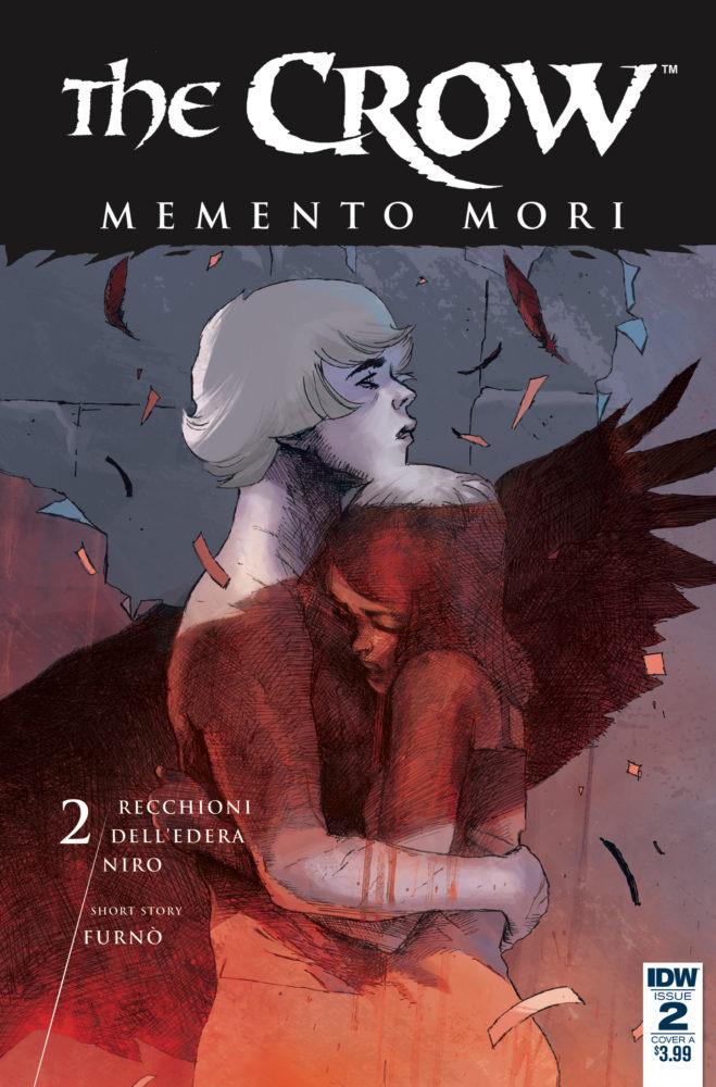 The Crow - Memento Mori # 2, edição da IDW