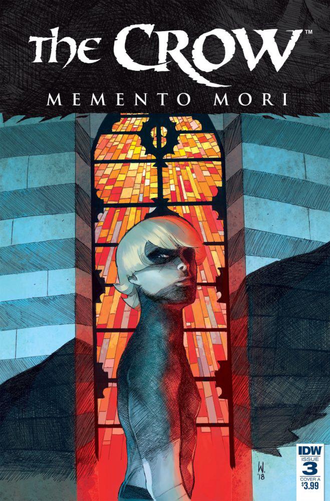 The Crow - Memento Mori # 3, edição da IDW