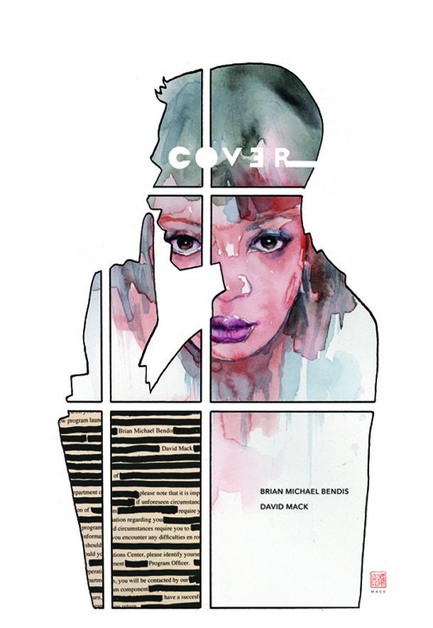 Cover # 1, de Brian Bendis e David Mack
