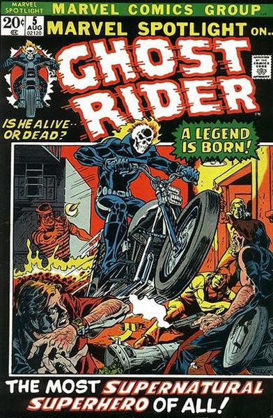 Motoqueiro Fantasma, em Marvel Spotlight # 5