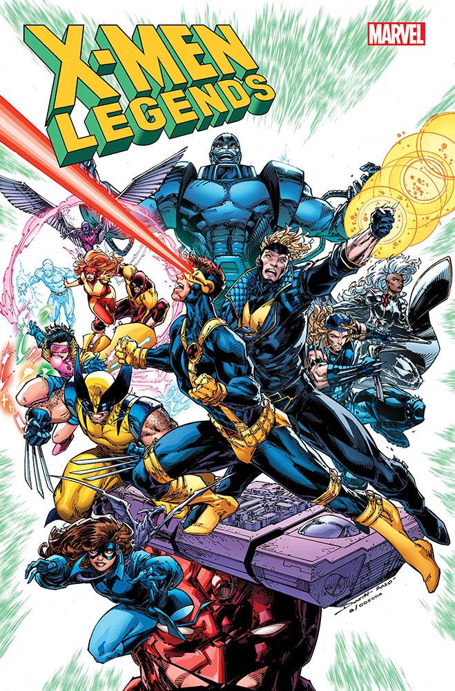 X-Men Legends # 1, de Breth Booth