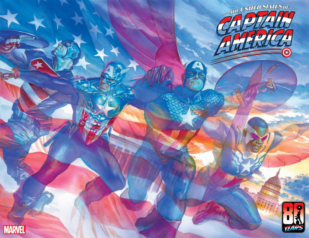 United States of Captain America # 1 - Alex Ross