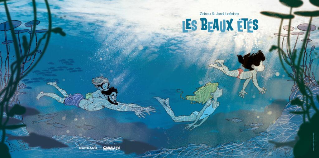 Arte da edição limitada de Les Beaux Étés - Volume 6