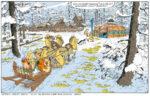 Quadro de Asterix et le Griffon